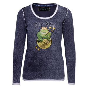 Girls Golf sweater kiss the frog