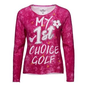 Girls Golf sweater my 1st choice
