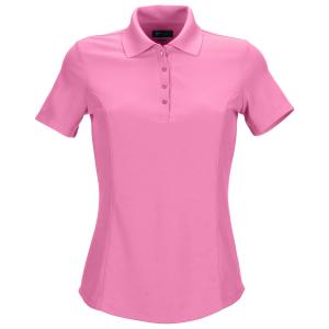 Greg Norman dames polo pink blush