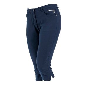 Backtee dames Super Stretch Capri navy
