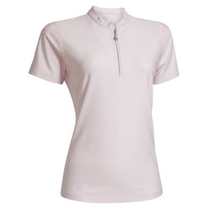 Ladies Melange Quick Dry Polo voorkant