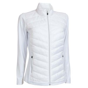 Ladies Quilted Thermal Jacket, White 46601-1000