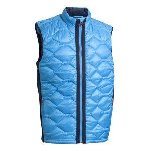 Backtee Mens Quilted Vest voorkant