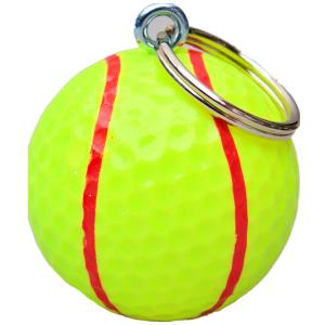 Golfbal sleutelhanger