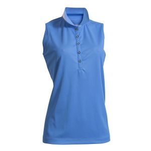 Backtee dames polo voorkant