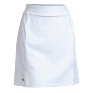 Backtee, Ladies Embossed Quick Dry UV Skort wit