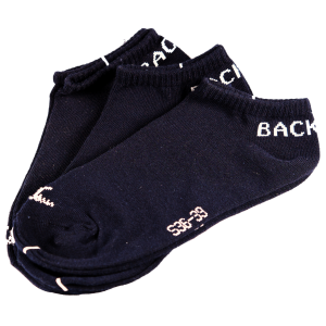 Backtee Golf sokken navy 3 Pack